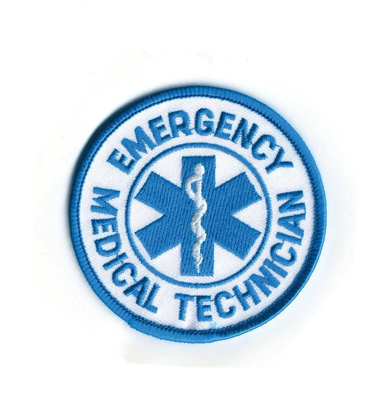 "Image of 3"" Round EMT Patch"