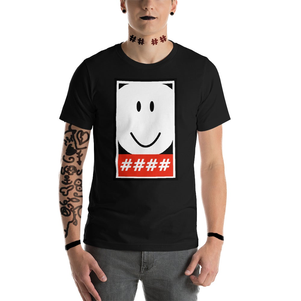 Image of HASH Unisex T-Shirt (Edgy Black)