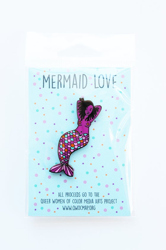 Image of Mermaid Love Enamel Pin