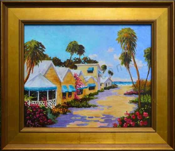Image of Favorite Beach Path by Mary Rose Holmes