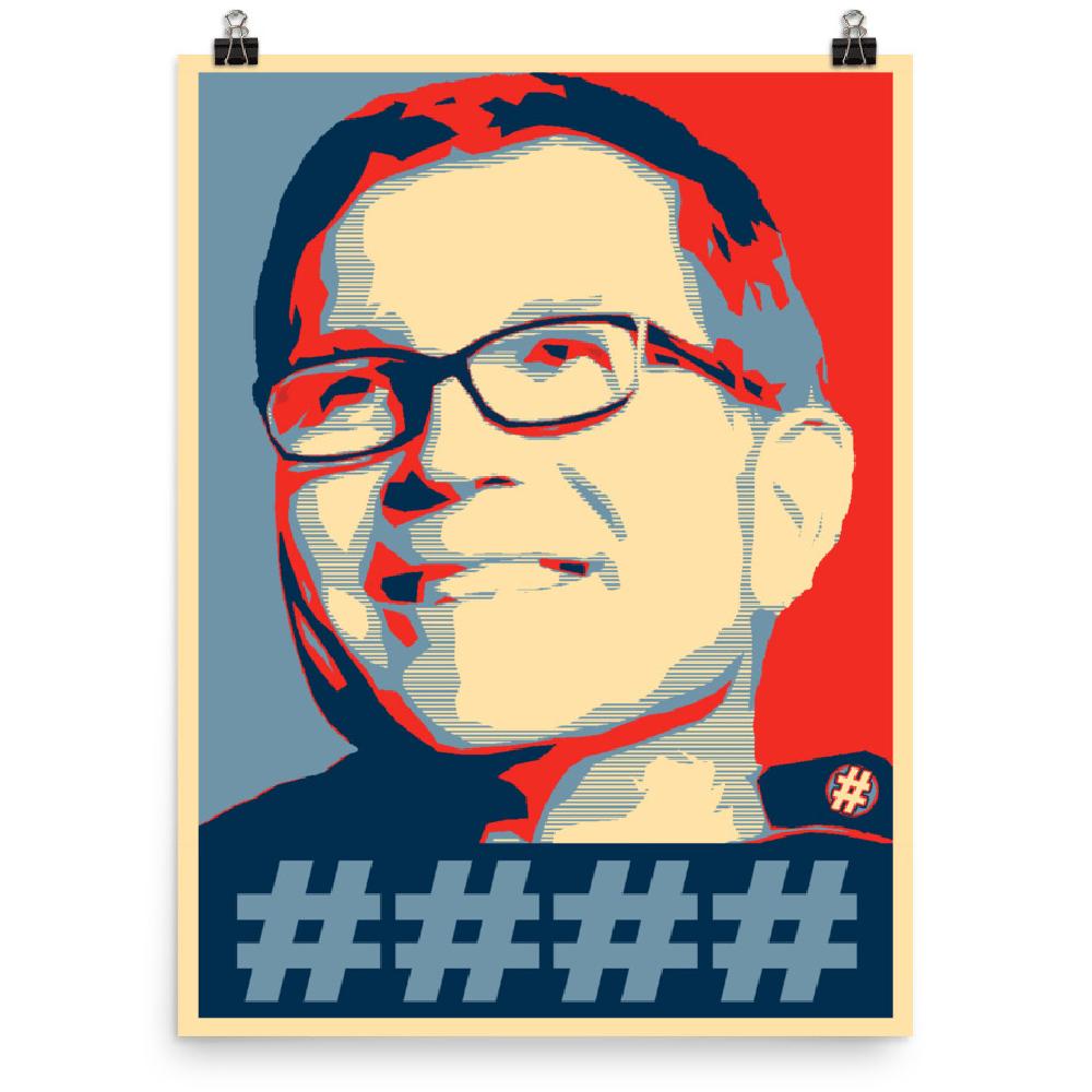 Image of Supreme Leader Dave Poster