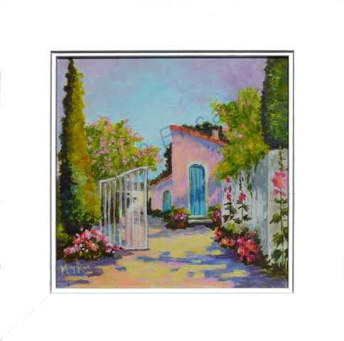 Image of Provence Cottage by Mary Rose Holmes