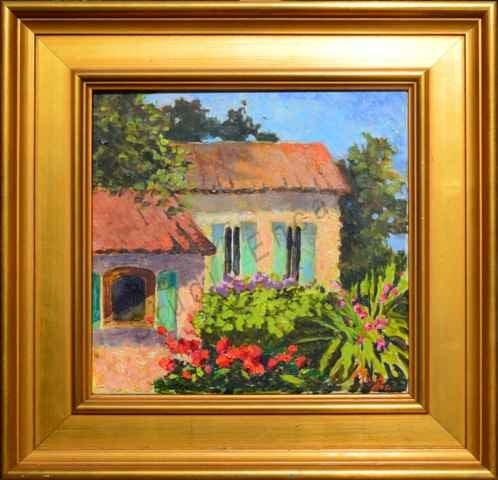 Image of Provence Cottage Garden by Mary Rose Holmes