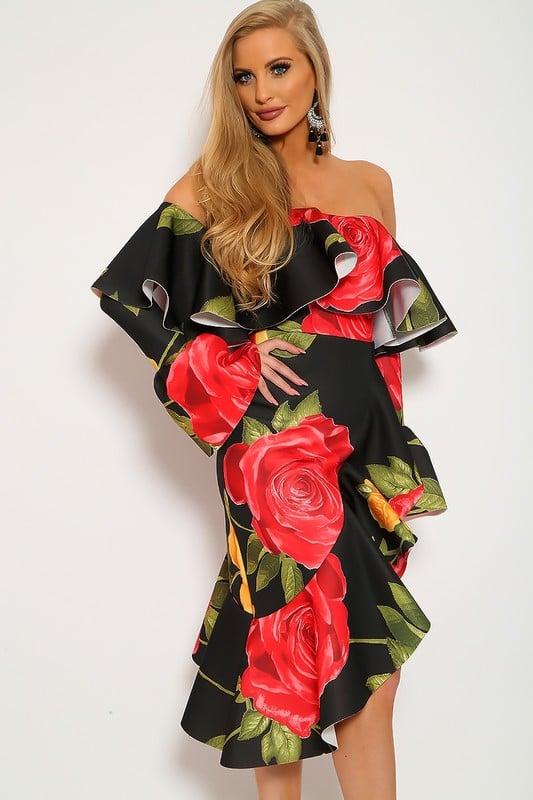 Image of Jron Floral dress