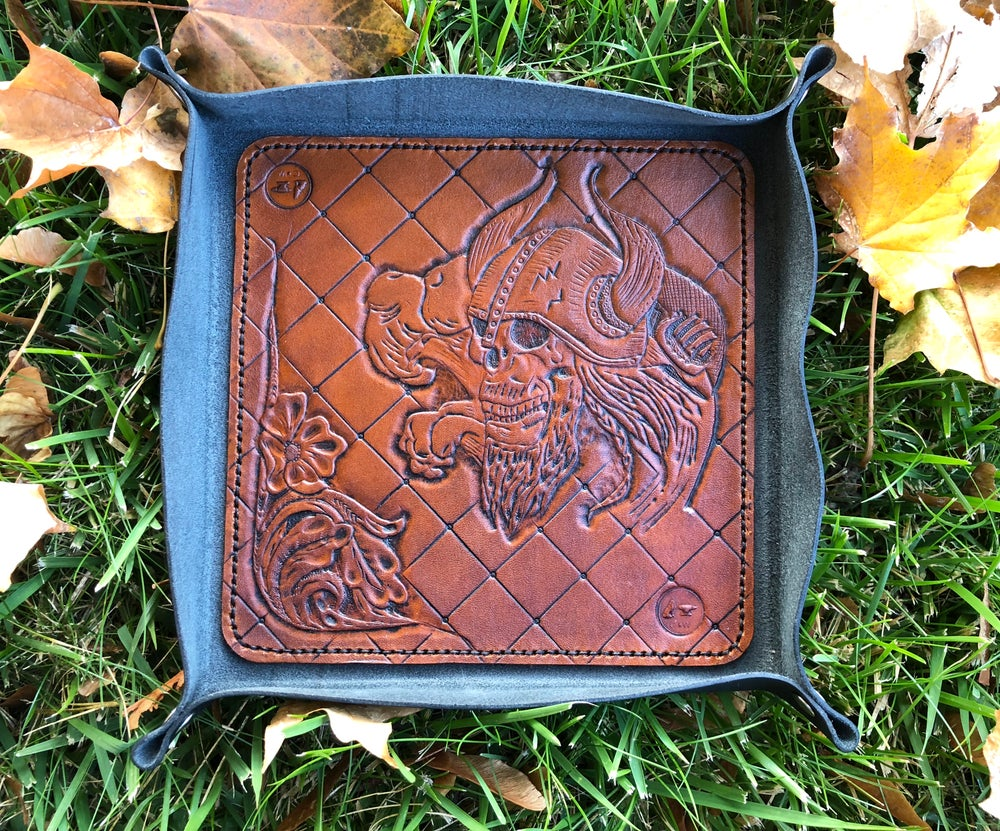 "Image of ""Land of the Gods"" Custom Valet Tray - Dump Tray"