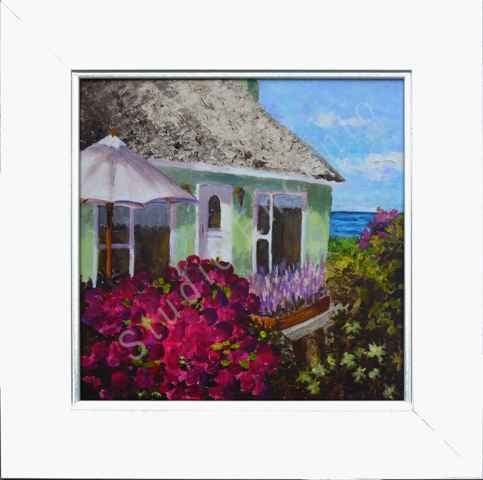 Image of Seaside Cozy Cottage by Mary Rose Holmes