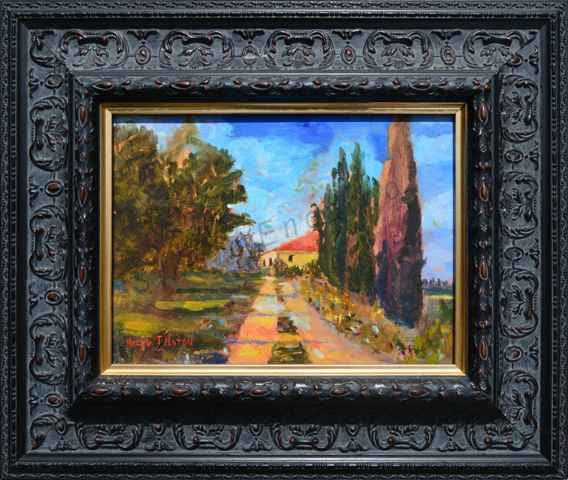 Image of Castello Vicchio a Maggio by Helen Tilston