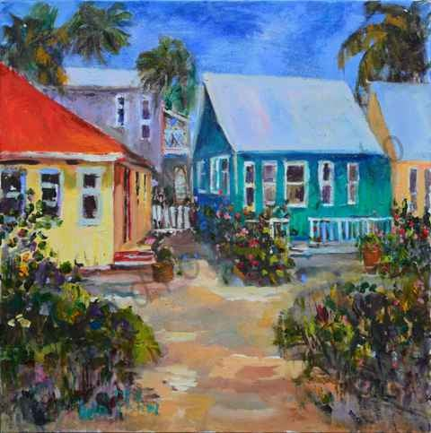 Image of Historical Cottages Indian Rocks Beach by Helen Tilston