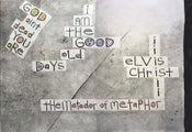 Image of ELVIS CHRIST, The Poetry and Hand Lettering of a San Francisco Mad Man