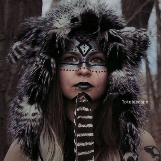 Image of Black/White Feather Bolli Bear