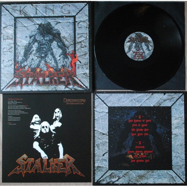 "Image of Stalker ""Grey King Grave"" LP"