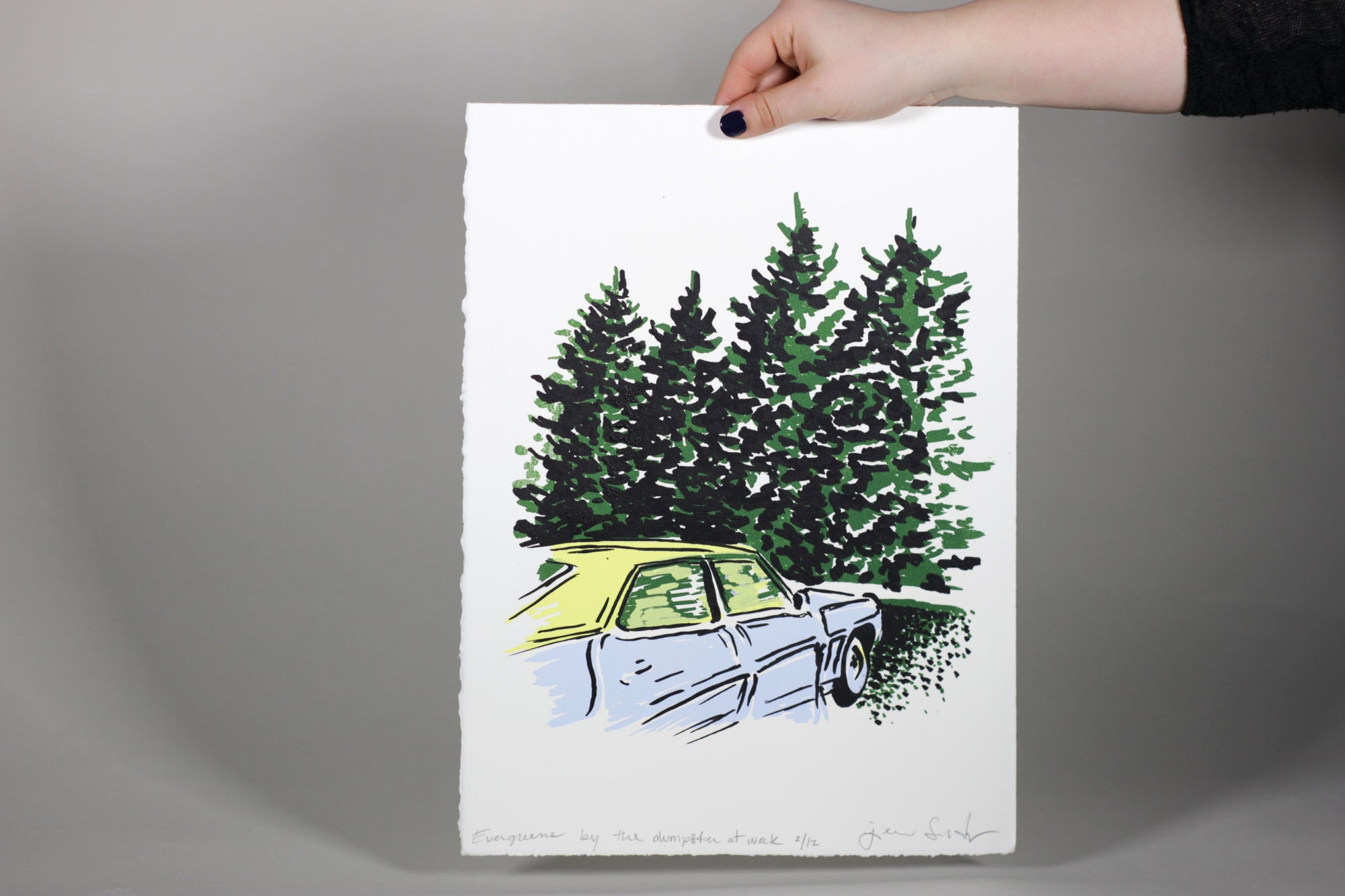 Image of Evergreens Screen Print
