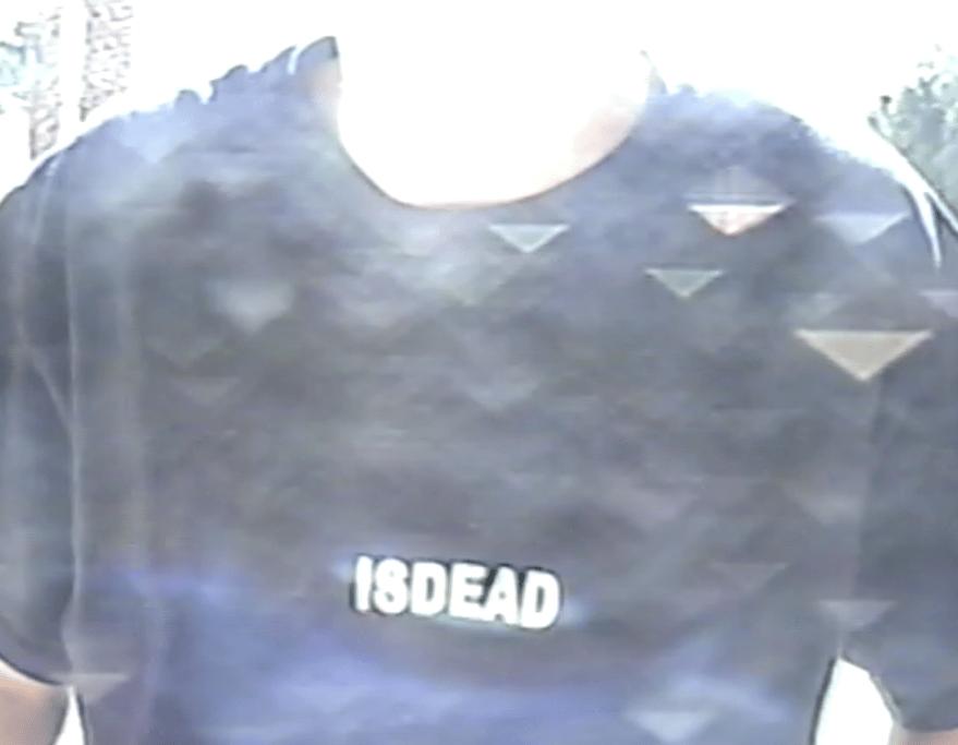 Image of ISDEAD LOGO SHIRT