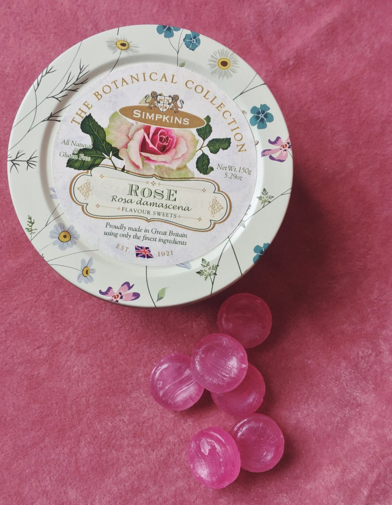 Image of Rose Flavour Travel Sweets