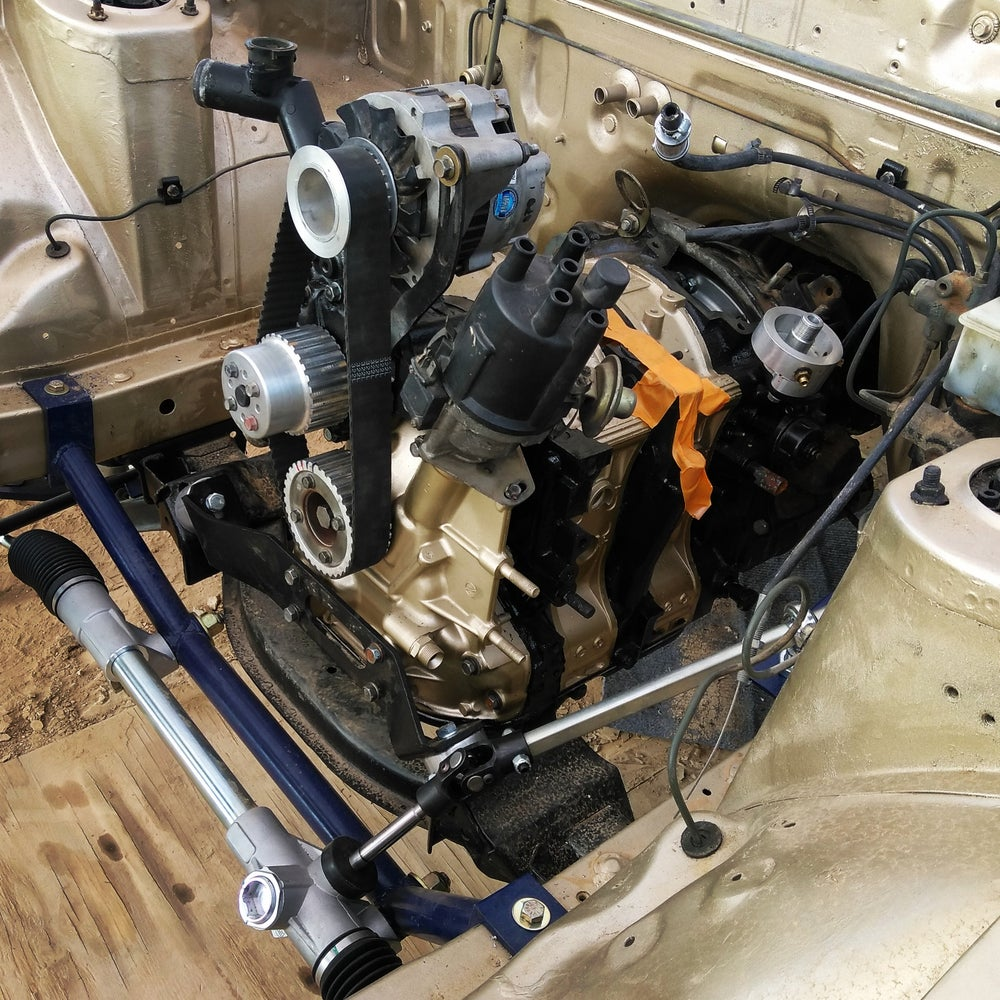 Image of Rx-7 rack and pinion steering kit