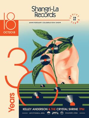 Image of Shangri-La 30 Year Anniversary Poster