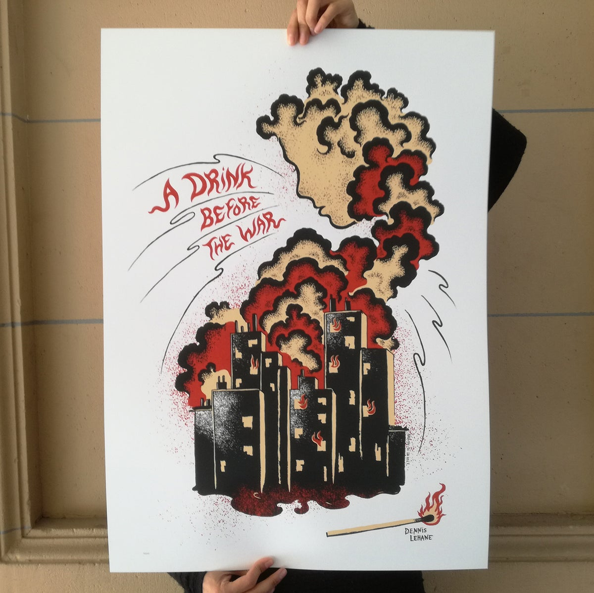A DRINK BEFORE THE WAR, Dennis Lehane (2018)