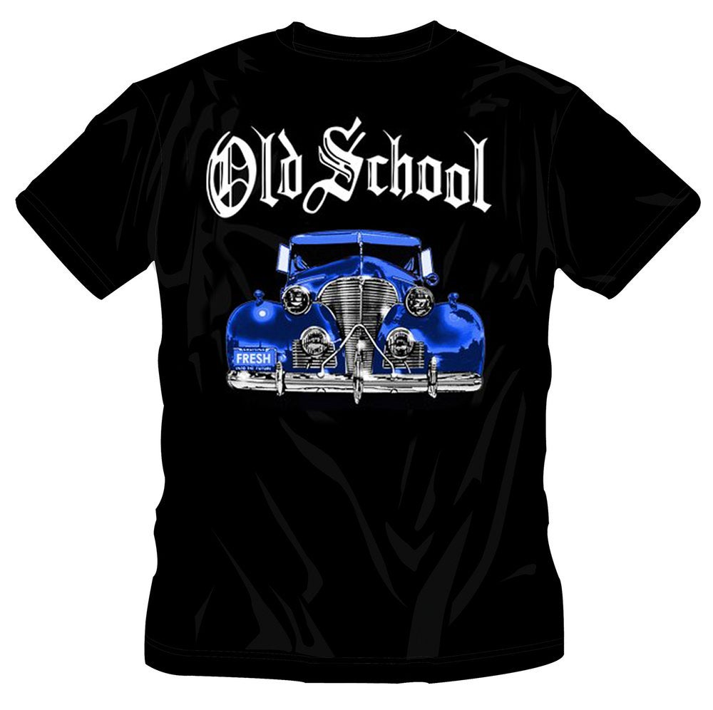 Image of #30 OS BLUE CAR BLACK TSHIRT