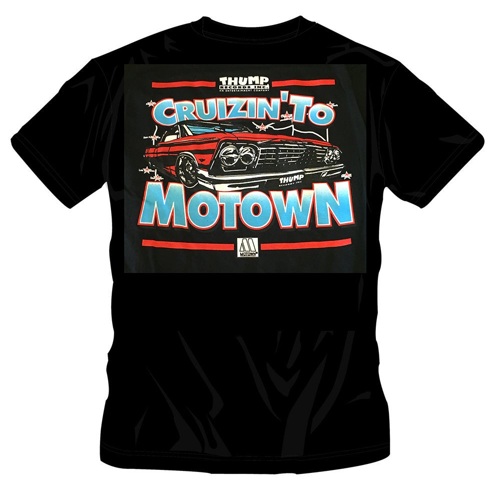 Image of #47 CRUIZIN TO MOTOWN TSHIRT