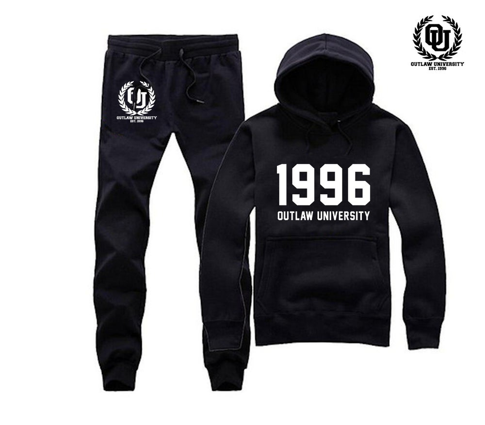 Image of 1996 Unisex Sweatsuit - Comes in Black, Grey, Navy Blue,