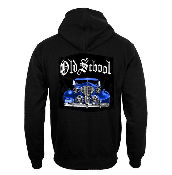 Image of #30H OS BLUE CAR HOODIE