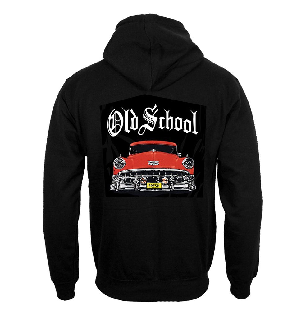 Image of #32H OS RED CAR HOODIE