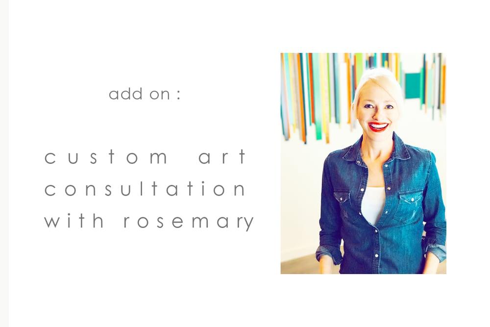 Image of Add On: Custom Art/Design Consultation with Rosemary
