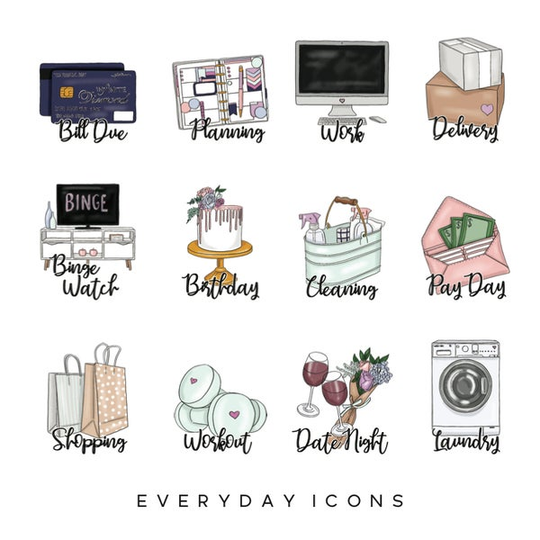 Image of Everyday Planner Icons