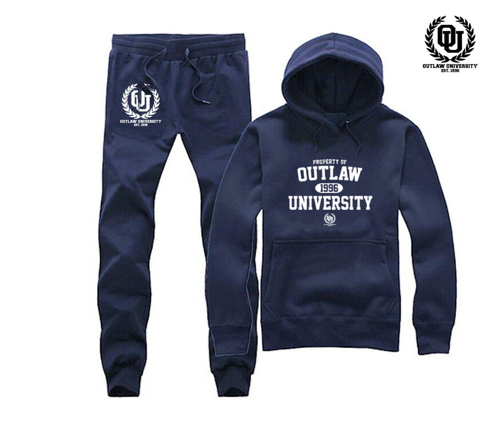 Image of Property of OU Unisex Sweat Suit- COMES IN BLACK, GREY, NAVY BLUE, RED