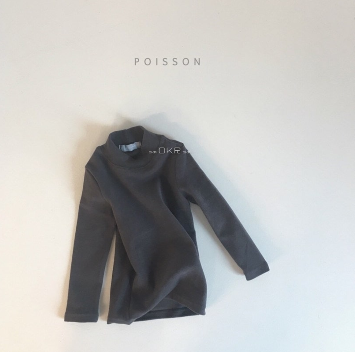 Image of Dark Gray Polar Long Sleeve