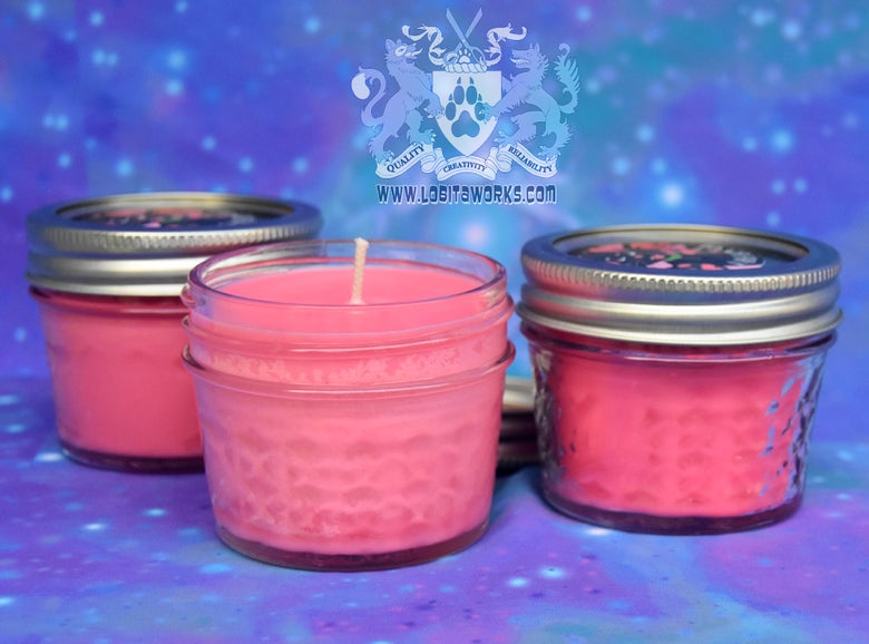 Image of Scented Candles - Pawberry