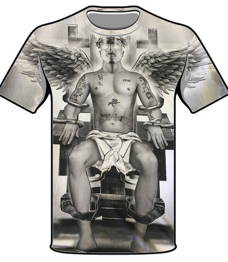 Image of #45 ELECTRIC CHAIR TSHIRT