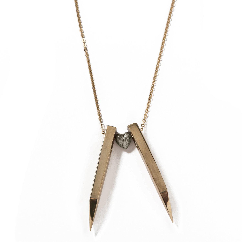 Image of Hidden Heart Necklace