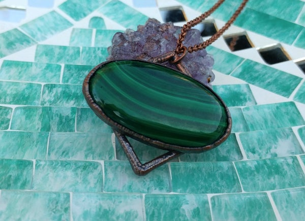 Image of Malachite Pendant