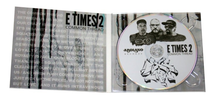 Image of E TIMES 2 (EX2) - COMMON THREAD (CD)