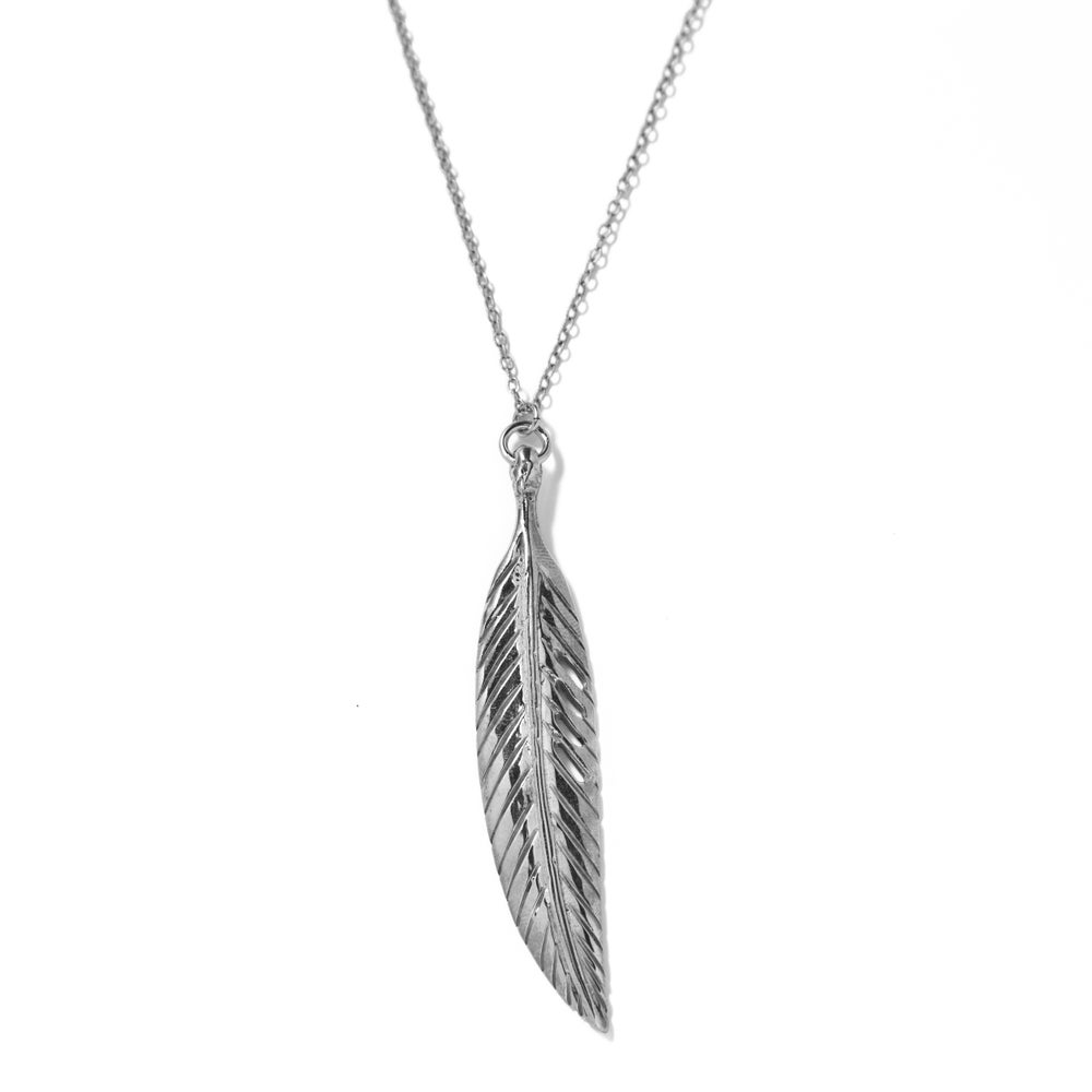 Image of Feather charm