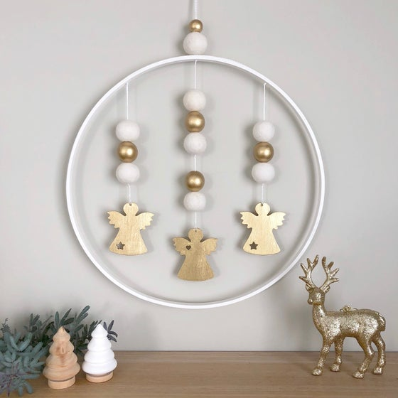 Image of Christmas wall hangings - 30cm