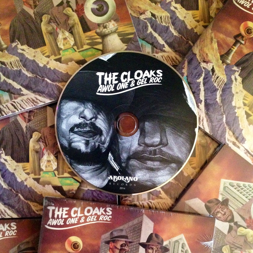 Image of THE CLOAKS (CD)
