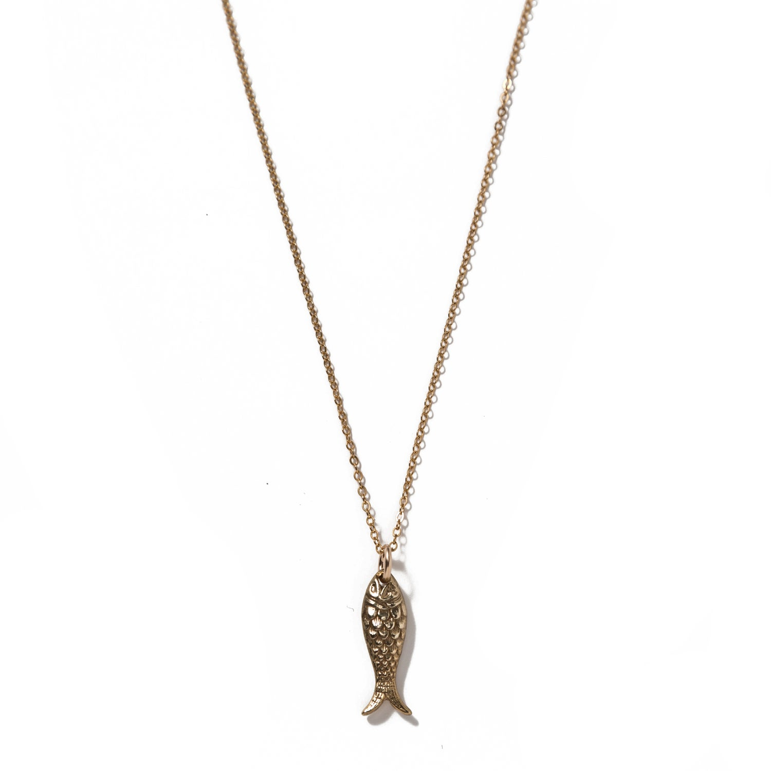 Image of Gold Fish charm