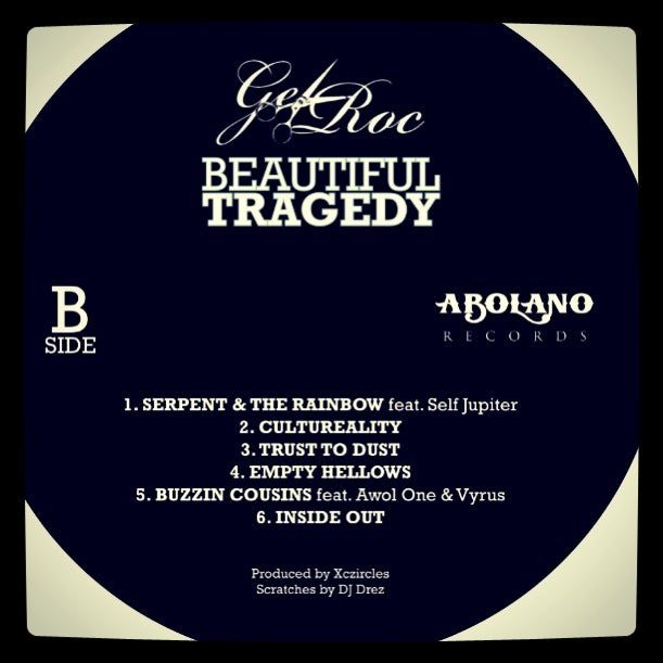 Image of GEL ROC - BEAUTIFUL TRAGEDY (vinyl LP)