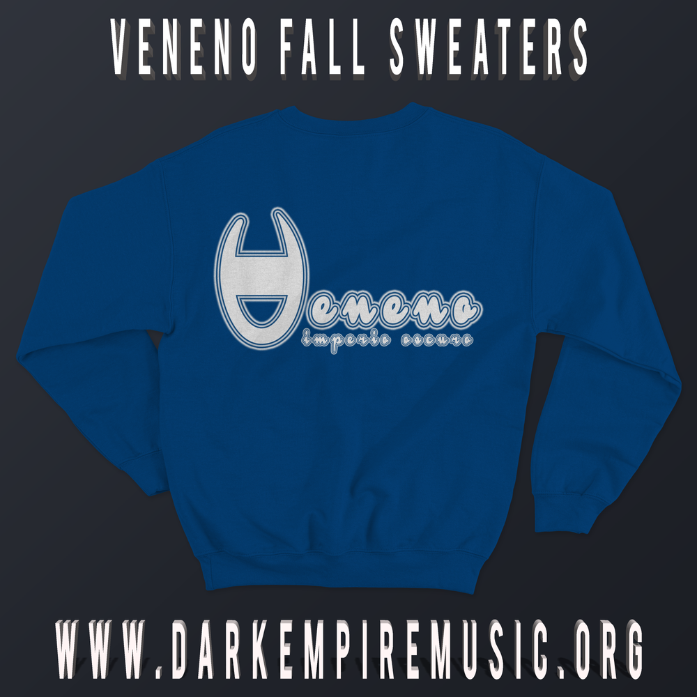 Image of Royal blue Veneno Sweater