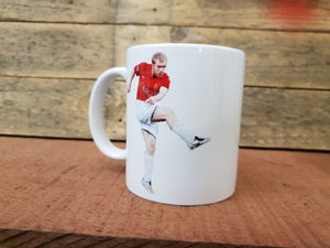 Image of Paul Scholes 18 mug