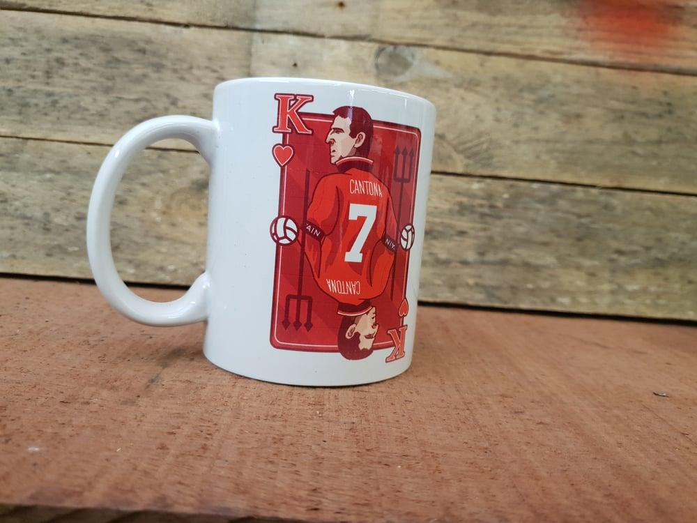 Image of Cantona King card mug