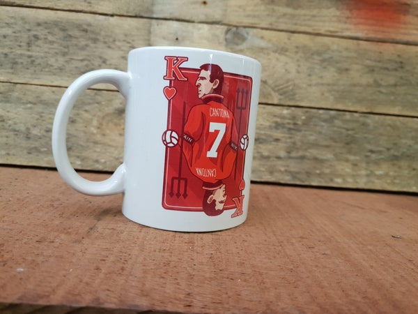 Image of Cantona King card mug