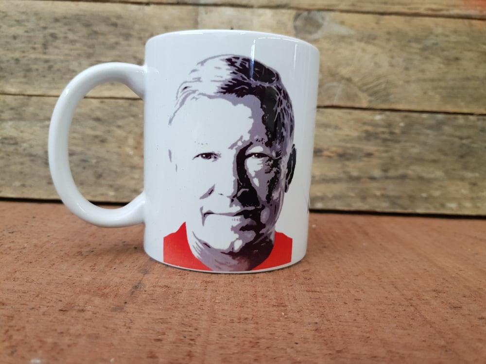 "Image of Fergie "" Football "" mug"
