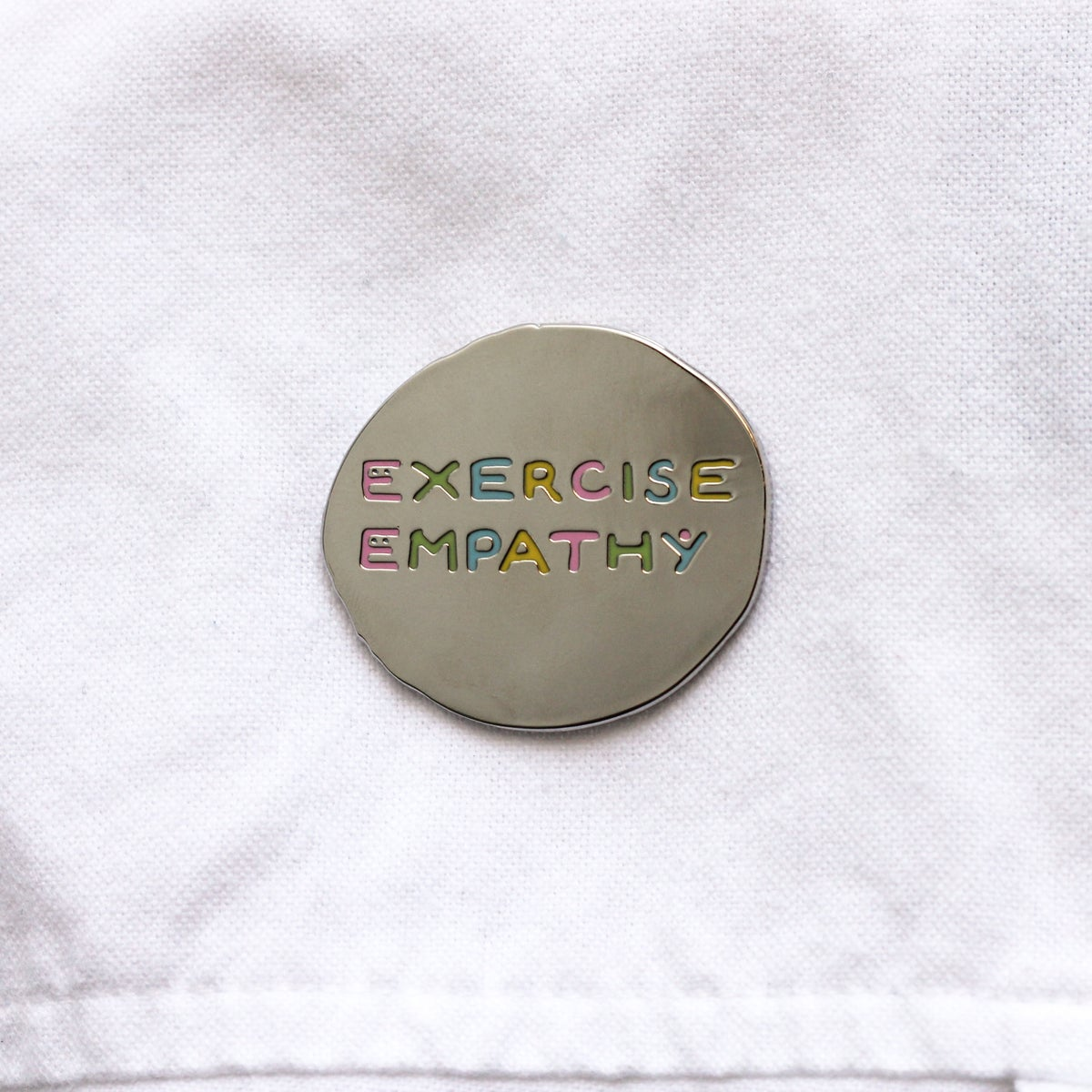 Image of Enamel Pin - Exercise Empathy