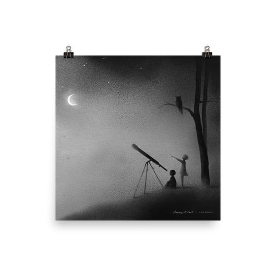 "Image of Enneagram ""Five"" Art Print"