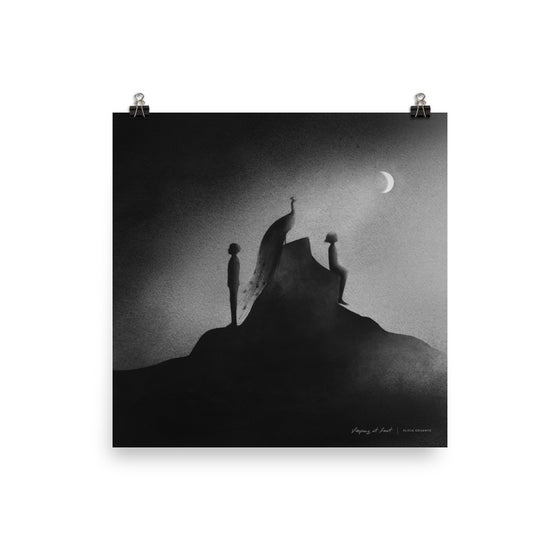 "Image of Enneagram ""Three"" Art Print"