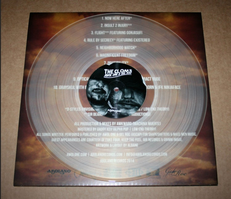Image of THE CLOAKS (vinyl LP)