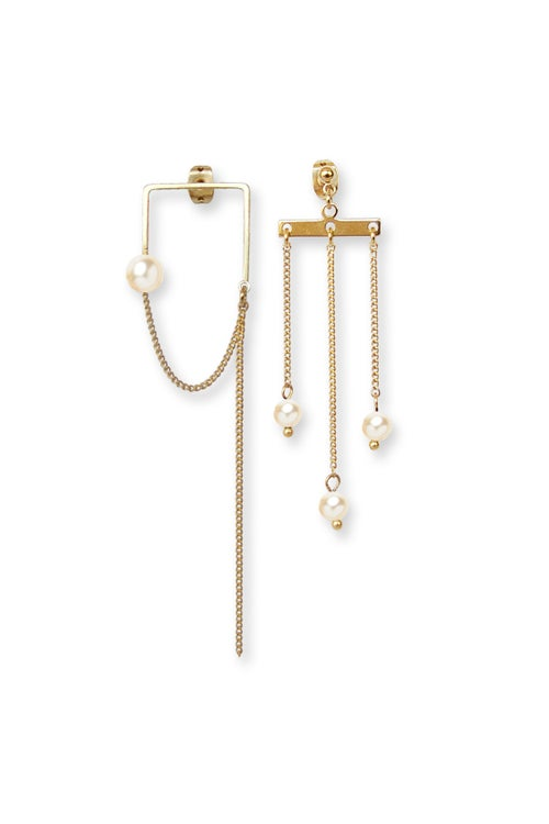 Image of Boucles d'oreilles BUBBLE CARRÉ